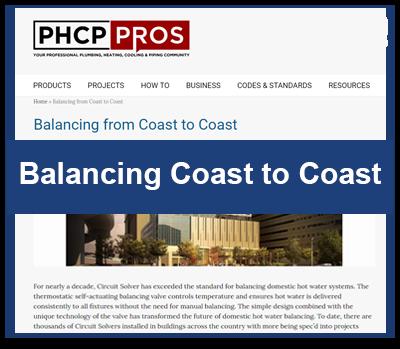 MEDIA ROOM Balancing From Coast to Coast