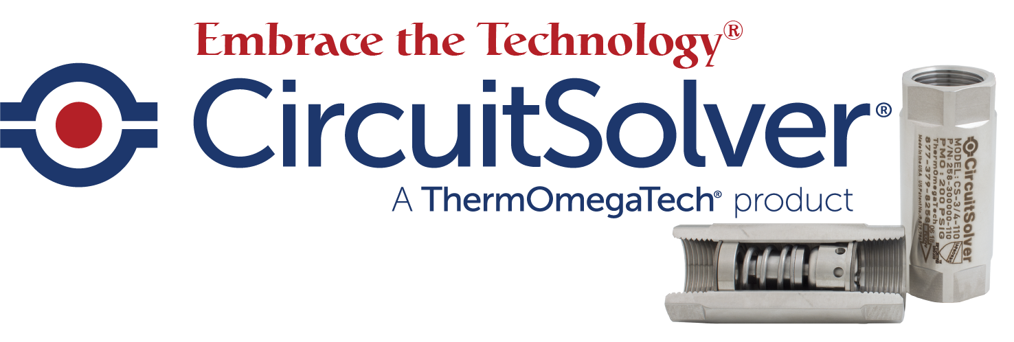 Embrace the Technology CircuitSolver® Domestic Hot Water Balancing Valve - Made in the USA